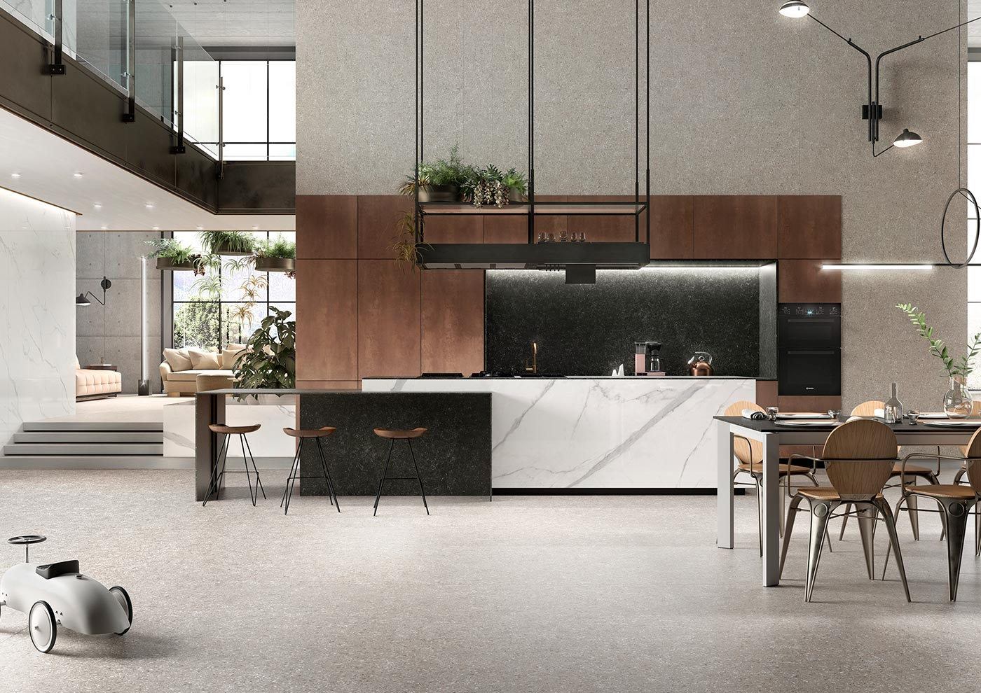 Kitchen design and decoration - Functionality and comfort